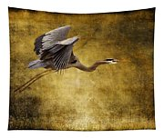 Heron Texturized Tapestry