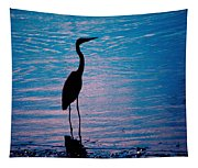 Herons Moment Tapestry