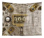 Herring Hall Marvin Co. Bank Vault Door Lock Tapestry