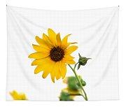 Hi Key Sunflower Tapestry