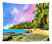 Hidden Paradise Tapestry