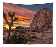 Hidden Valley Rock - Joshua Tree Tapestry