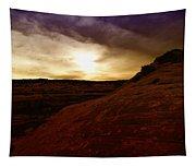 High Desert Clouds Tapestry