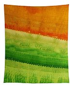 High Desert Original Painting Tapestry