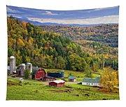 Hillside Acres Farm Tapestry