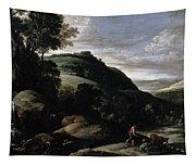 Hilly Landscape Tapestry
