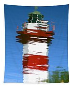 Hilton Head Lighthouse Reflection Tapestry