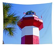 Hilton Head Lighthouse Upclose Tapestry
