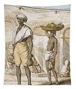 Hindu Valet Or Buyer Of Food, From The Tapestry