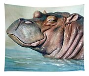 Hippo Lisa Tapestry