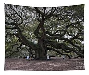 Historic Angel Oak Tapestry