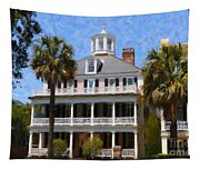 Historic Battery Home Tapestry