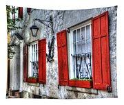 Historic Charleston Pirates House Tapestry