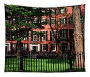 Historic Homes Of Beacon Hill, Boston Tapestry