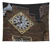 Historic London Clock Tapestry