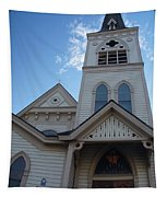 Historic Methodist Church Looking Up Tapestry