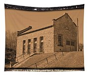 Historic Power Sepia Tapestry