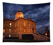 Historical Placer County Courthouse Tapestry