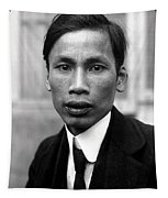 Ho Chi Minh In 1921 Tapestry