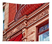 Hoboken Brownstone Art Tapestry