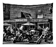 Hogs At The Tow Bar Inn - Old Forge New York Tapestry