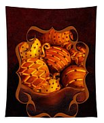 Holiday Citrus Bowl Iphone Case Tapestry