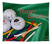 Holiday Golf Tapestry