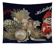 Holiday Greeting Tapestry