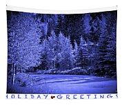 Holiday Greetings - Vail - Colorado Tapestry