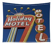 Holiday Motel Las Vegas Tapestry