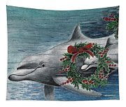 Holiday Smile Tapestry