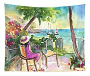 Holidays In Saint Martin Tapestry