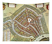 Holland: Gouda Plan, 1649 Tapestry
