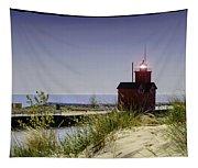 Holland Harbor Light  Tapestry