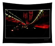 Holland Tunnel Lights Tapestry