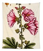 Hollyhocks Tapestry