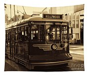 Hollywood Trolley Tapestry