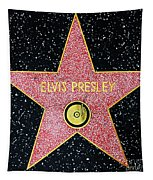 Hollywood Walk Of Fame Elvis Presley 5d28923 Tapestry