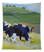 Holstein Friesian Cows Tapestry