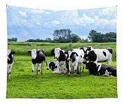 Holstein Heaven Tapestry