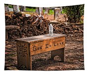 Holt Cemetery - God Is Love Bench Tapestry