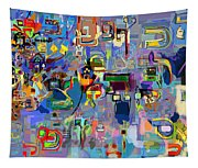 Holy Letters 1x Tapestry