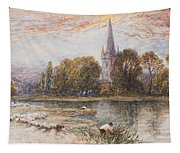 Holy Trinity Church On The Banks If The River Avon Stratford Upon Avon Tapestry