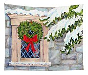 Home For The Holidays Tapestry