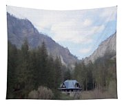 Home In The Mountains Tapestry