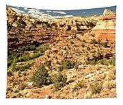 Home Of Calf Creek Falls Tapestry