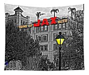Home Sweet Home Monochrome Tapestry