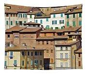 Homes In Cortona Tapestry