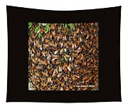 Honey Bee Swarm Tapestry