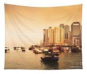 Hong Kong Harbour 02 Tapestry